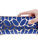 cheap -Women's Bags Polyester Evening Bag Buttons / Pattern / Print for Event / Party / Office & Career Blue