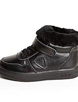 Недорогие -Девочки Обувь Полиуретан Зима Удобная обувь Кеды для Белый / Черный / Розовый