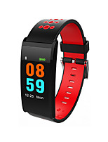 cheap -Smartwatch Touch Screen Heart Rate Monitor Water Resistant / Water Proof Pedometers Distance Tracking Anti-lost Camera Control Message