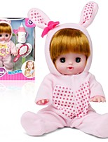 cheap -Interactive Doll Baby Girl 12 inch Silicone - lifelike Kid's Girls' Gift