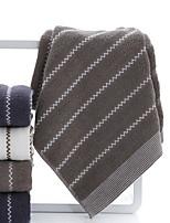 abordables -Qualité supérieure Serviette, Rayé Polyester / Coton / Pur coton 1 pcs
