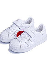 cheap -Girls' Shoes Leather Spring Comfort Sneakers for Outdoor White