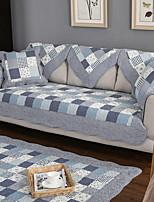 baratos -Cobertura de Sofa Geométrica Impressão Reactiva Algodão / Poliéster Capas de Sofa