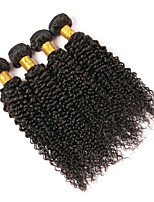 cheap -Peruvian Hair Curly One Pack Solution 4 Bundles Human Hair Weaves Extention / Hot Sale Natural Black Human Hair Extensions All