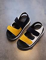Недорогие -Мальчики Обувь Полиуретан Лето Удобная обувь Сандалии для Темно-синий / Красный