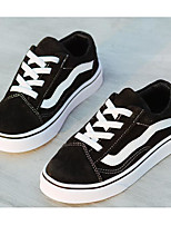 Недорогие -Мальчики Обувь Замша Весна & осень Удобная обувь Кеды для Белый / Черный / Красный