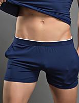 cheap -Men's Briefs Underwear / Boxers Underwear Solid Colored Low Rise