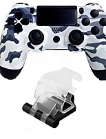 cheap -Wireless Game Controllers / Handle bracket For PS4 ,  Bluetooth Vibration / Touchpad / Low vibration Game Controllers / Handle bracket ABS 1 pcs unit