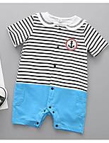 Недорогие -малыш Универсальные Контрастных цветов Короткие рукава 1 предмет / Очаровательный
