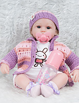 cheap -Reborn Doll 18inch Silicone Girls' Kid's Gift