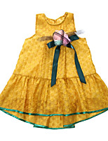 cheap -Kids Girls' Color Block Sleeveless Dress