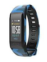 cheap -Smart Bracelet Touch Screen Water Resistant / Water Proof Calories Burned Pedometers Exercise Record Anti-lost Camera Control