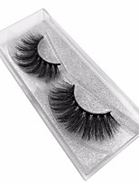 cheap -Eye 1 Natural / Curly / Portable Daily Makeup Full Strip Lashes Make Up Professional / Portable Portable / Eco-friendly Daily 1cm-1.5cm