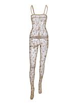 abordables -Body Vêtement de nuit Femme - Maille, Fleur
