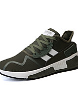 cheap -Men's Shoes Net / Tulle Summer Comfort Sneakers Running Shoes White / Black / Green