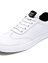 economico -Per uomo Scarpe Gomma Primavera / Estate Comoda Sneakers Bianco / Nero / Rosso