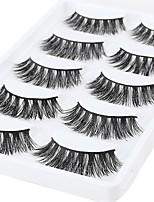 abordables -Œil 1 Naturel / Bouclé Maquillage Quotidien Cils Entiers / Epais Maquillage Professionnel / Portable Niveau professionnel / Portable