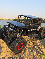 cheap -RC Car Alloy Climber 4WD RC Car 4CH 2.4G Off Road Car / Rock Climbing Car 1:18 KM/H