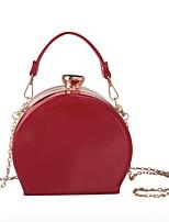 preiswerte -Damen Taschen PU Abendtasche Knöpfe / Perlen Verzierung Schwarz / Rote / Dunkelblau