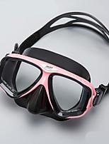 Недорогие -плавательные очки / Очки для подводного плавания Противотуманный, Регулируемый размер, Водонепроницаемый Два окна - Дайвинг, Для