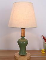 abordables -Moderne / Contemporain Décorative Lampe de Table Pour Céramique 200-240V Vert