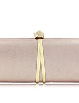 cheap -Women's Bags Terylene / Alloy Evening Bag Buttons Black / Blushing Pink / Dark Gray