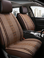 cheap -ODEER Car Seat Cushions Seat Covers Camel Textile Common for universal All years All Models