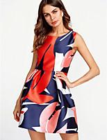 cheap -TS - Dreamy Land Women's cotton sheath dress mini