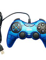 economico -Con filo Controller di gioco Per PC ,  Portatile / Vibrazione Controller di gioco ABS 1 pcs unità
