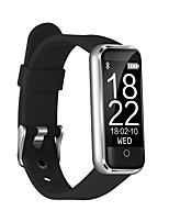 cheap -Smart Bracelet CB-601+ for iOS / Android Heart Rate Monitor / Blood Pressure Measurement / Pedometers / Calories Burned / Long Standby / Touch Screen / New Design Timer / Pedometer / Call Reminder