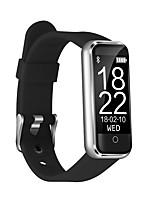 Недорогие -Умный браслет CB-601+ for iOS / Android Новый дизайн / Сенсорный экран / Пульсомер Педометр / Датчик для отслеживания сна / Таймер