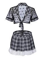 cheap -Women's Suits / Uniforms & Cheongsams Nightwear - Pleated, Plaid