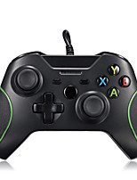 abordables -Câblé Contrôleurs de jeu Pour Polycarbonate / Xbox One, Bluetooth Vibration Contrôleurs de jeu ABS 1pcs unité 220cm