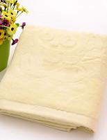 Недорогие -Высшее качество Банное полотенце, Однотонный / Геометрический принт Полиэстер / Хлопок / 100% хлопок 1 pcs