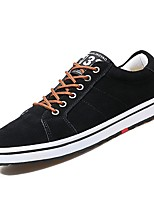 cheap -Men's Shoes Rubber Spring Comfort Sneakers Black / Blue / Khaki