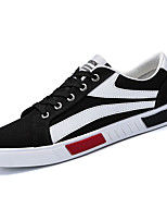 cheap -Men's Shoes Fabric / PU Summer Comfort Sneakers White / Black / Red
