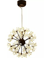 cheap -QIHengZhaoMing Chic & Modern Chandelier Ambient Light - Crystal, 110-120V 220-240V, Warm White, Bulb Included