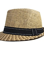 cheap -Unisex Vintage Basic Straw Hat - Solid Colored