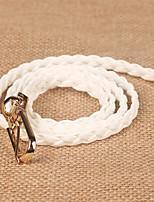 cheap -Women's Active Basic Fabric Waist Belt - Solid Colored