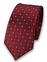 cheap -Unisex Party / Work Necktie - Jacquard Criss-Cross