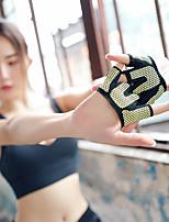 cheap -Exercise Gloves 2pcs Yoga / Exercise & Fitness / Gym Non-Slip Plastics / Rubber