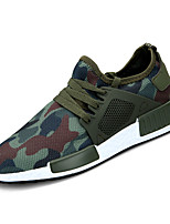 cheap -Men's Shoes Rubber Summer Comfort Sneakers Army Green / Blue