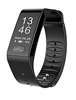 cheap -Smartwatch STT6 for Android 4.3 and above / iOS 7 and above Heart Rate Monitor / Blood Pressure Measurement / Pedometers / Calories Burned / Long Standby Pedometer / Call Reminder / Activity Tracker
