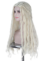 cheap -Cosplay Wigs Game of Thrones Cosplay Anime Cosplay Wigs 121.92 cm CM Heat Resistant Fiber All