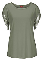 cheap -Women's Going out T-shirt - Solid Colored