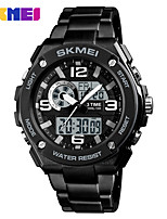 cheap -SKMEI Men's Sport Watch / Digital Watch Chinese Calendar / date / day / Water Resistant / Water Proof / Noctilucent Alloy Band Casual / Fashion Black / Large Dial