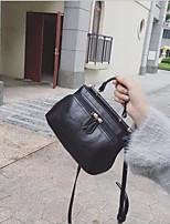 baratos -Mulheres Bolsas PU Bolsa de Ombro Ziper Verde / Preto / Bege