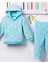 cheap -Baby Girls' Polka Dot Long Sleeve Clothing Set