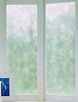 cheap -Window Film & Stickers Decoration Artistic / Retro Flower / Floral / Classic PVC(PolyVinyl Chloride) Anti-Glare