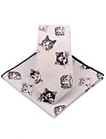 cheap -Unisex Party / Work Necktie - Print Cat